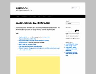enarion.net screenshot