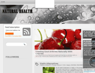 enaturalhealthtips.blogspot.com screenshot