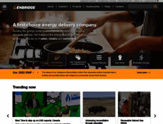 enbridge.com screenshot