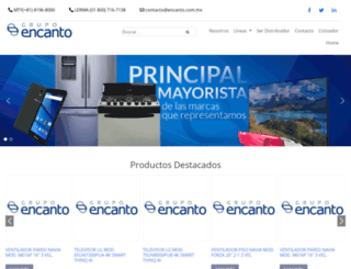 encanto.com.mx screenshot