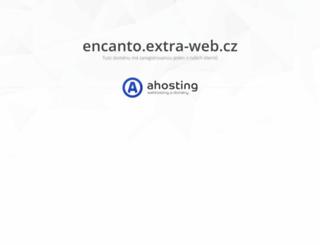 encanto.extra-web.cz screenshot
