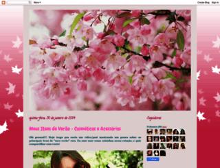 encantosdesakura.blogspot.com.br screenshot