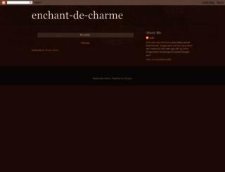 enchant-de-charme.blogspot.com screenshot