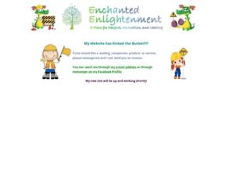 enchantedenlightenment.com screenshot