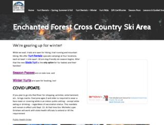 enchantedforestxc.com screenshot