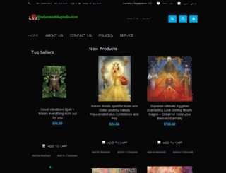 enchantedmagnolia.com screenshot