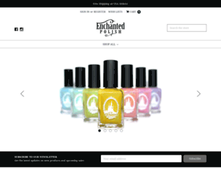 enchantedpolish.com screenshot