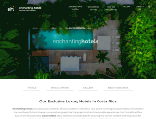 enchanting-hotels.com screenshot
