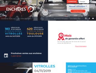 encheres-vo.com screenshot