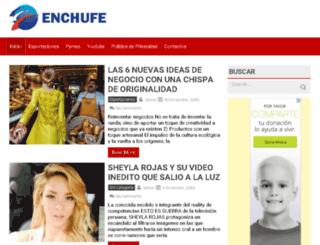 enchufe.info screenshot
