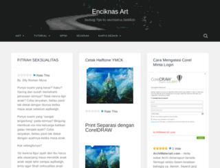 enciknas.wordpress.com screenshot