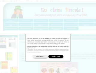 enclassepascale.eklablog.com screenshot