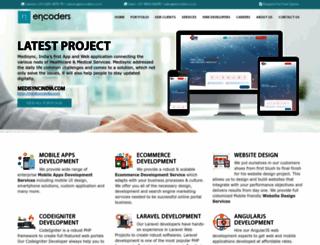 encoders.co.in screenshot