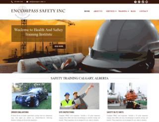 encompass-safety.ca screenshot