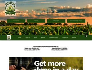 encompassgrain.com screenshot
