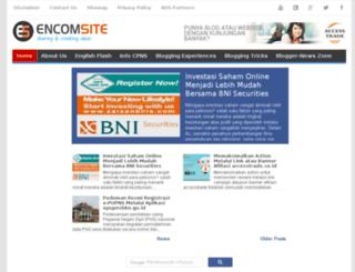 encomsite.blogspot.com screenshot
