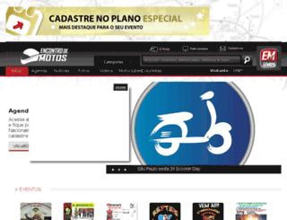 encontrodemotos.com.br screenshot