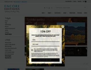 encore-editions.com screenshot