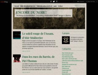 encoredunoir.com screenshot