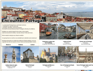 encounterportugal.com screenshot