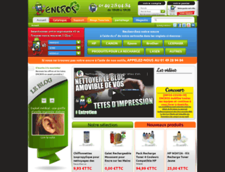 encros.fr screenshot
