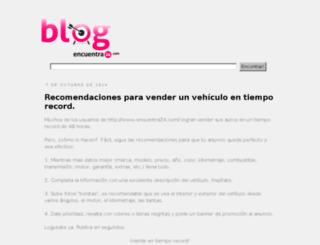 encuentra24.blogspot.com screenshot