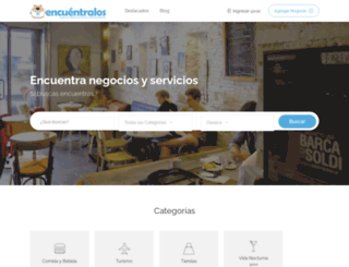 encuentralos.com.mx screenshot
