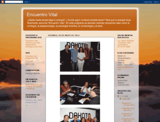 encuentrovitalfm.blogspot.mx screenshot