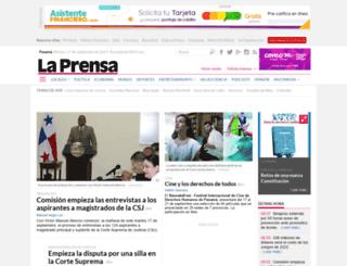 encuesta.prensa.com screenshot