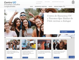 encuestas.uc.cl screenshot