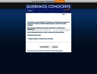 encuestas2013.questionpro.com screenshot