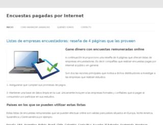 encuestasremuneradasporinternet.com screenshot