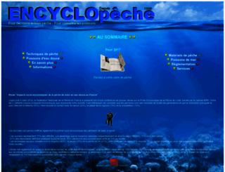 encyclopeche.com screenshot