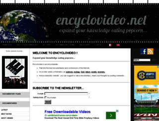 encyclovideo.net screenshot