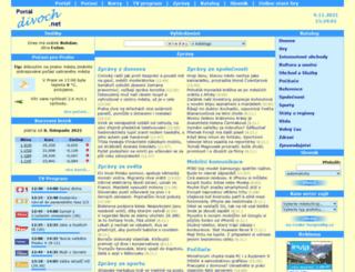 encyklopedie.divoch.info screenshot