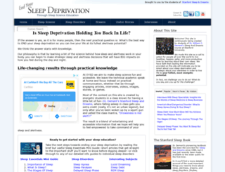 end-your-sleep-deprivation.com screenshot