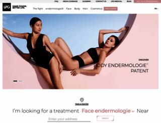 endermologie.com screenshot