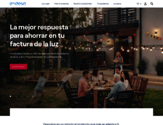endesaclientes.com screenshot