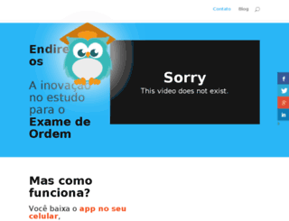 endireitados.com.br screenshot