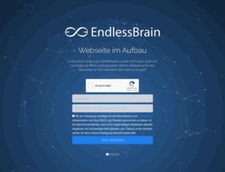 endlessbrain.com screenshot