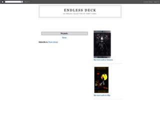 endlessdeck.blogspot.com screenshot