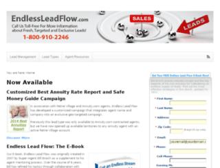 endlessleadflow.com screenshot