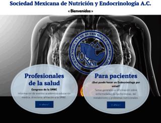 endocrinologia.org.mx screenshot