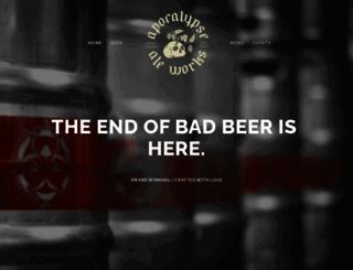 endofbadbeer.com screenshot