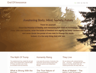 endofinnocence.com screenshot