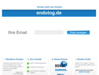 endolog.de screenshot