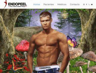 endopeel.com.mx screenshot