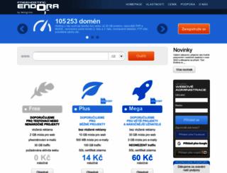 endora.cz screenshot