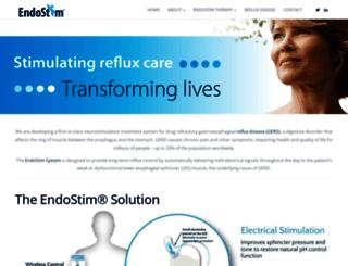 endostim.com screenshot