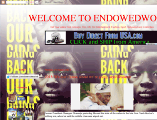 endowedworld.com screenshot